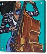 Esperanza Spalding Acrylic Print