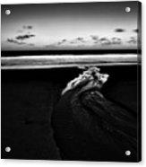 Estuary To The Sea Acrylic Print