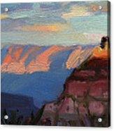 Evening Light at the Grand Canyon Acrylic Print