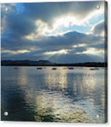 Evening On Windermere In Lake District National Park Acrylic Print