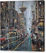 Evening Traffic II Acrylic Print
