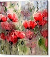 Everything About Poppies Acrylic Print