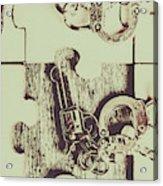Evidential Mystery Acrylic Print