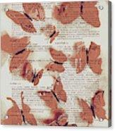 Exotic Scripts Acrylic Print