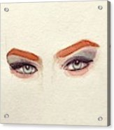 Makeup Art Painting Acrylic Print