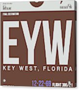 Eyw Key West Luggage Tag II Acrylic Print