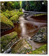 Fairy Glen Gorge Acrylic Print