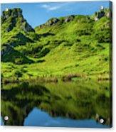 Fairy Glen, Isle Of Skye Acrylic Print