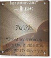 Faith 8002 Acrylic Print