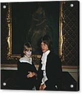 Faithful Couple Acrylic Print