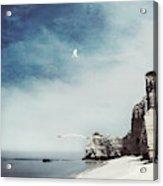 Falaise D'amont - Etretat - France Acrylic Print