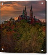 Fall Clouds Over Holy Hill Acrylic Print