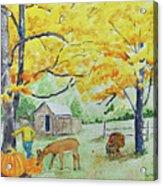 Fall Fun Acrylic Print