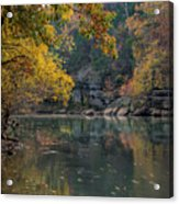 Fall In Arkansas Acrylic Print