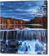 Fall In The Hudson Valley  Acrylic Print