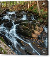 Falling Waters In October Acrylic Print