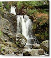 Falls At Inversnaid In Autumn Acrylic Print