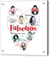 Falsettos Acrylic Print