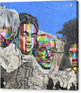 Famous Contemporary Artists Mural Acrylic Print