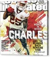 Fantasy Defies Reality A World In Which Jamaal Charles And Sports Illustrated Cover Acrylic Print