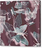 Fantasy Flutters Acrylic Print