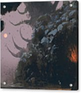 Fantasy Landscape With Mystery Acrylic Print