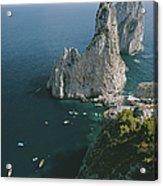 Faraglioni Rocks Acrylic Print