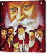 Farbrengen With The Rebbe Acrylic Print