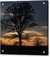 Farm Country Sunset Acrylic Print