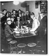 Faro Gambling House After Legalization Acrylic Print