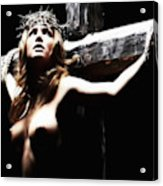 Female Christ Acrylic Print
