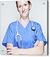Female Doctor Acrylic Print