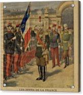 Ferdinand I Of Bulgaria At The Élysée Acrylic Print