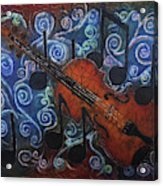 Fiddle 1 Acrylic Print