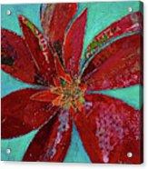 Fiery Bromeliad I Acrylic Print