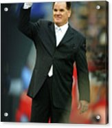File Photo Pete Rose Admits To Betting Acrylic Print