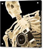 Film Is Dead Acrylic Print