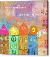 Find Your Happy Place Acrylic Print