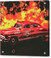 Fire Hornet Acrylic Print