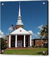 First Baptist Church North Myrtle Beach S C Acrylic Print