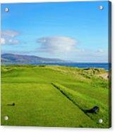 First Tee At Brora Golf Club, Moray Acrylic Print