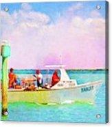 Fishing Bandit Acrylic Print