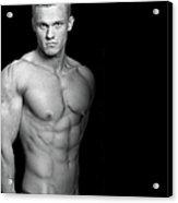 Fitness Portrait Acrylic Print
