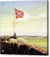 Flag Of Fort Sumter Acrylic Print