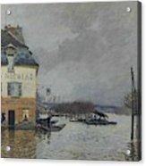 Flood At Port-marly, 1876 04 Acrylic Print