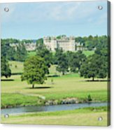 Floors Castle And River Tweed Acrylic Print