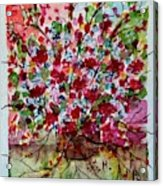 Floral Life Acrylic Print
