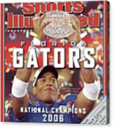 Florida Qb Chris Leak, 2007 Bcs National Championship Game Sports Illustrated Cover Acrylic Print