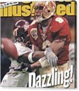 Florida State University Peter Warrick, 2000 Nokia Sugar Sports Illustrated Cover Acrylic Print