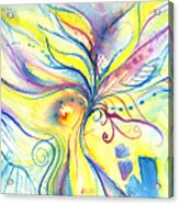 Flower Of The Soul Acrylic Print